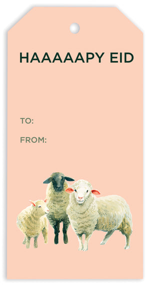 EID SHEEP GIFT TAGS