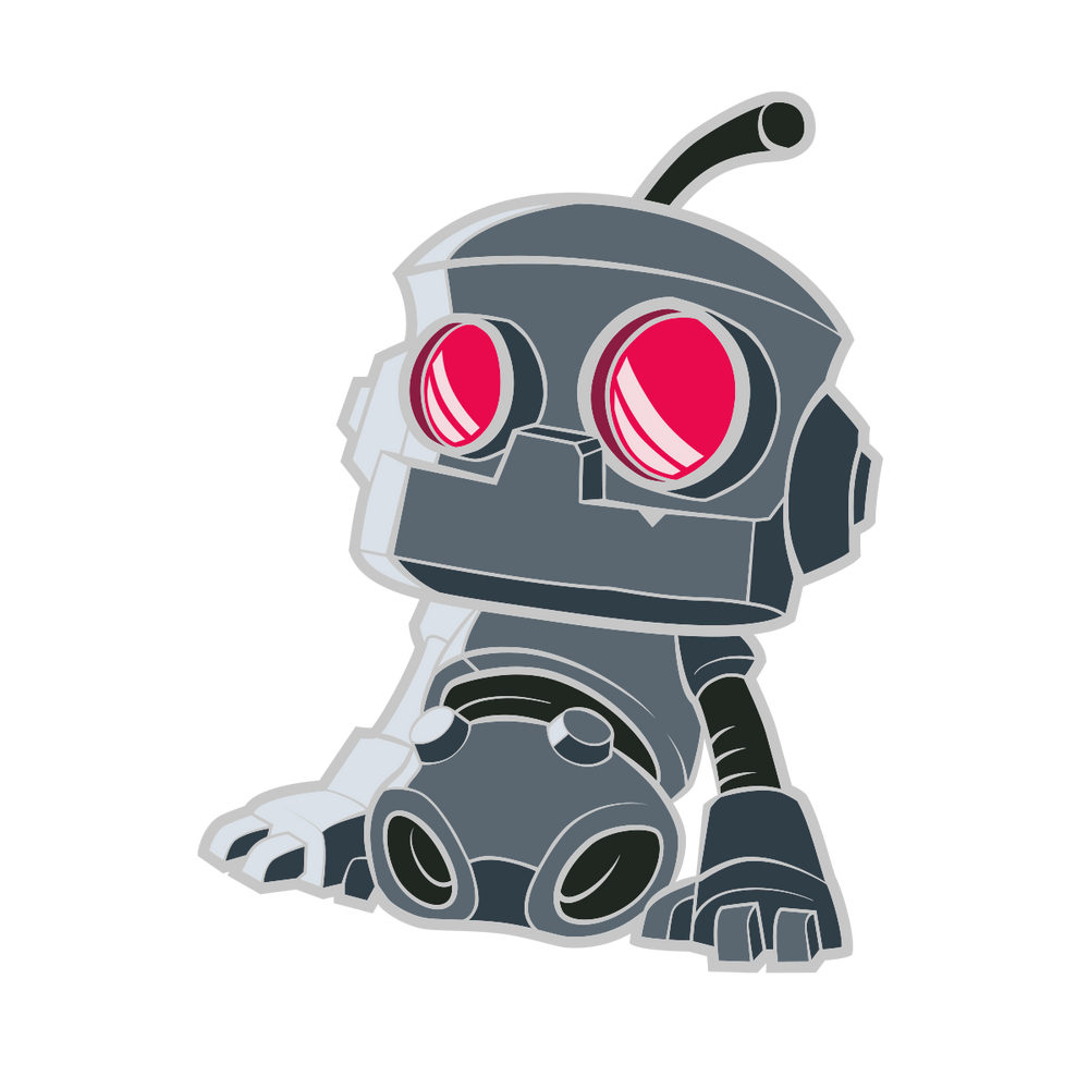 Helpful Doorbot Trading Pin