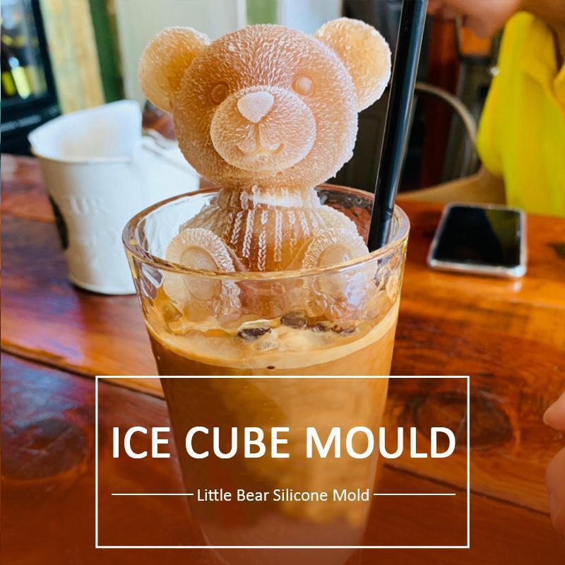 Ice Bear Coffee Silicone Mold