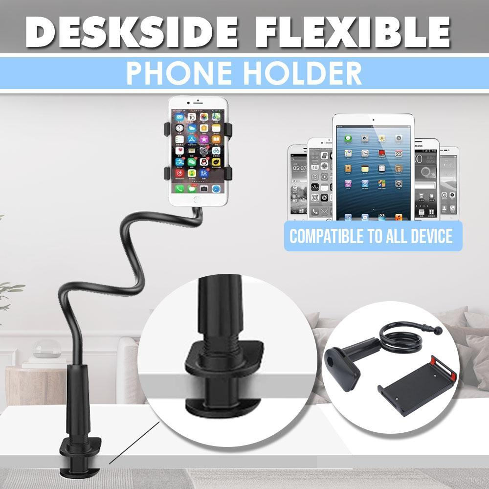 DeskSide Flexible Phone Holder