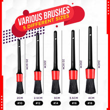 Load image into Gallery viewer, Alternate Car Detailing Brush Kit (5PCS)
