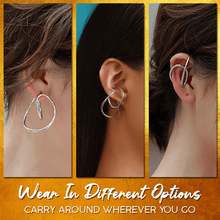 Load image into Gallery viewer, Hoola Punch Free Ear Cuffs