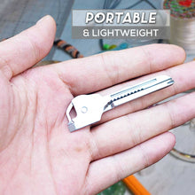 Load image into Gallery viewer, Outdoor Portable 6-in-1 Keychain