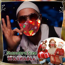 Load image into Gallery viewer, Funny LED Christmas Washable Cloth Cover