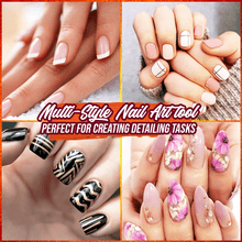 Load image into Gallery viewer, FloralGarden Nail Art Styling Brush Set