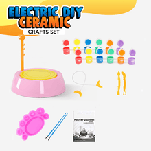 Load image into Gallery viewer, Electric DIY Ceramic Crafts Set