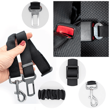 Load image into Gallery viewer, Adjustable Elastic Pet BFF Car Seat Belt