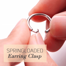 Load image into Gallery viewer, Retractable Easy Earrings