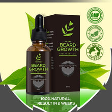 Load image into Gallery viewer, Tea Tree Beard Growth Treatment Oil