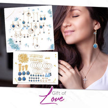 Load image into Gallery viewer, Stunning Earrings DIY Kit Set