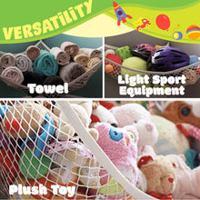 Load image into Gallery viewer, Jumbo Toy Organizing Mesh Hammock