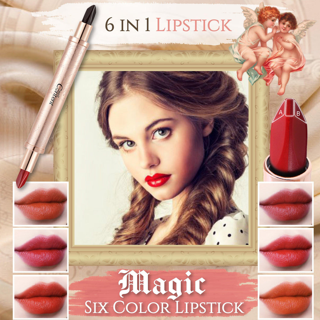 Magic Six Color Lipstick