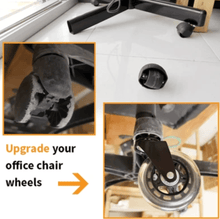 Load image into Gallery viewer, Caster Office Chair Wheels Set