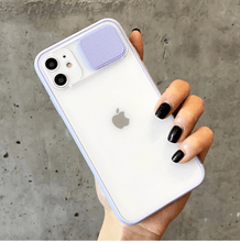 Load image into Gallery viewer, Slide Camera Lens Protection iPhone Case