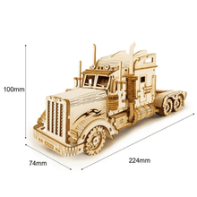 Load image into Gallery viewer, Wooden Mechanical Model Puzzle