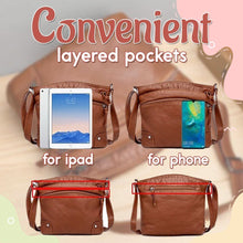 Load image into Gallery viewer, Multi-Compartment Leather Bag