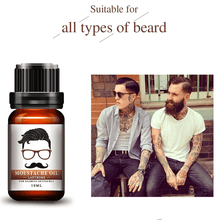 Load image into Gallery viewer, Pure Organic Hair Growth Essence Moustache Oil 1668