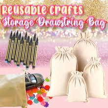 Load image into Gallery viewer, Reusable Crafts Storage Drawstring Bag 1688