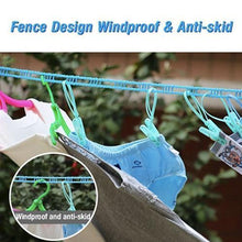 Load image into Gallery viewer, Portable Non-Slip Windproof Clothesline