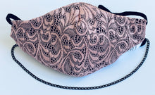 Load image into Gallery viewer, Pink Lace Mask