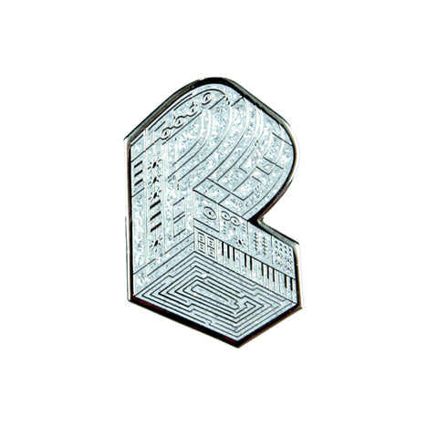 Pretty Lights - Grassroots Monogram Silver Pin