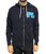 Pretty Lights Embroidered Zip-Up Hoodie (Midnight Blue/Teal)