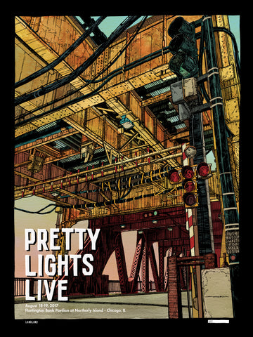 Pretty Lights - 2017 Chicago Episodic Poster