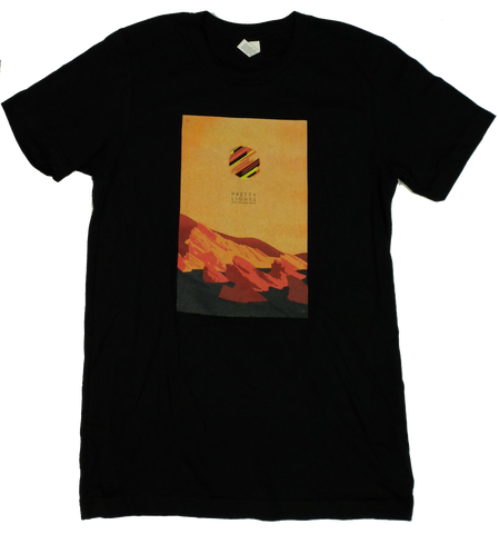 Red Rocks 2015 T-Shirt (Vintage Black)