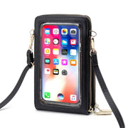 Buy Online Premium Quality and Stylish Mini Shoulder Bag, Transparent Touch Screen Messenger Bag, Phone Bag, Crossbody Touch Screen Phone Bag, Everyday Bag, Everyday Crossbody Bag - ShBang.co