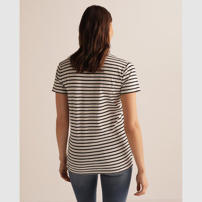 Buy Online Premium Quality and Stylish Sustainable Cotton Striped T-shirt - ShBang.co