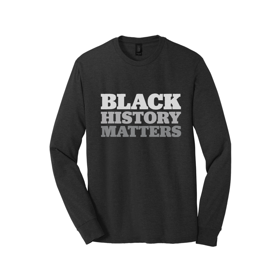 Black History Matters Long-sleeved T-shirt