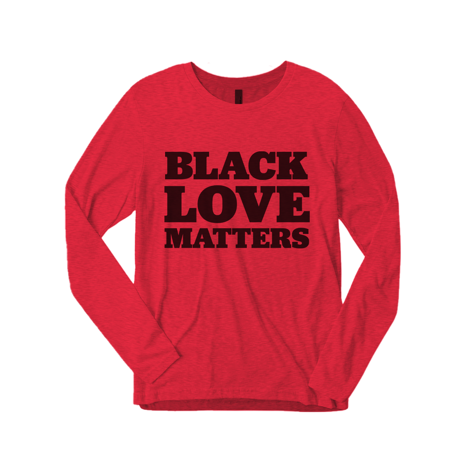Black Love Matters Long-sleeved T-shirt