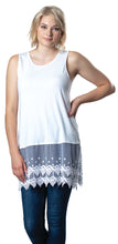 Load image into Gallery viewer, Kelly Lace Bamboo Tank