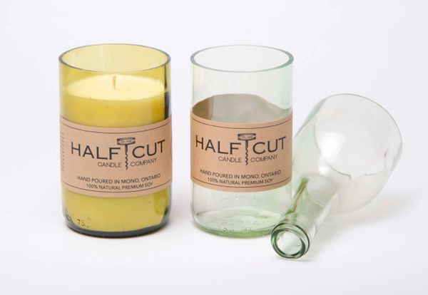Half Cut Candle Company - 100% Organic North American Soy Candles