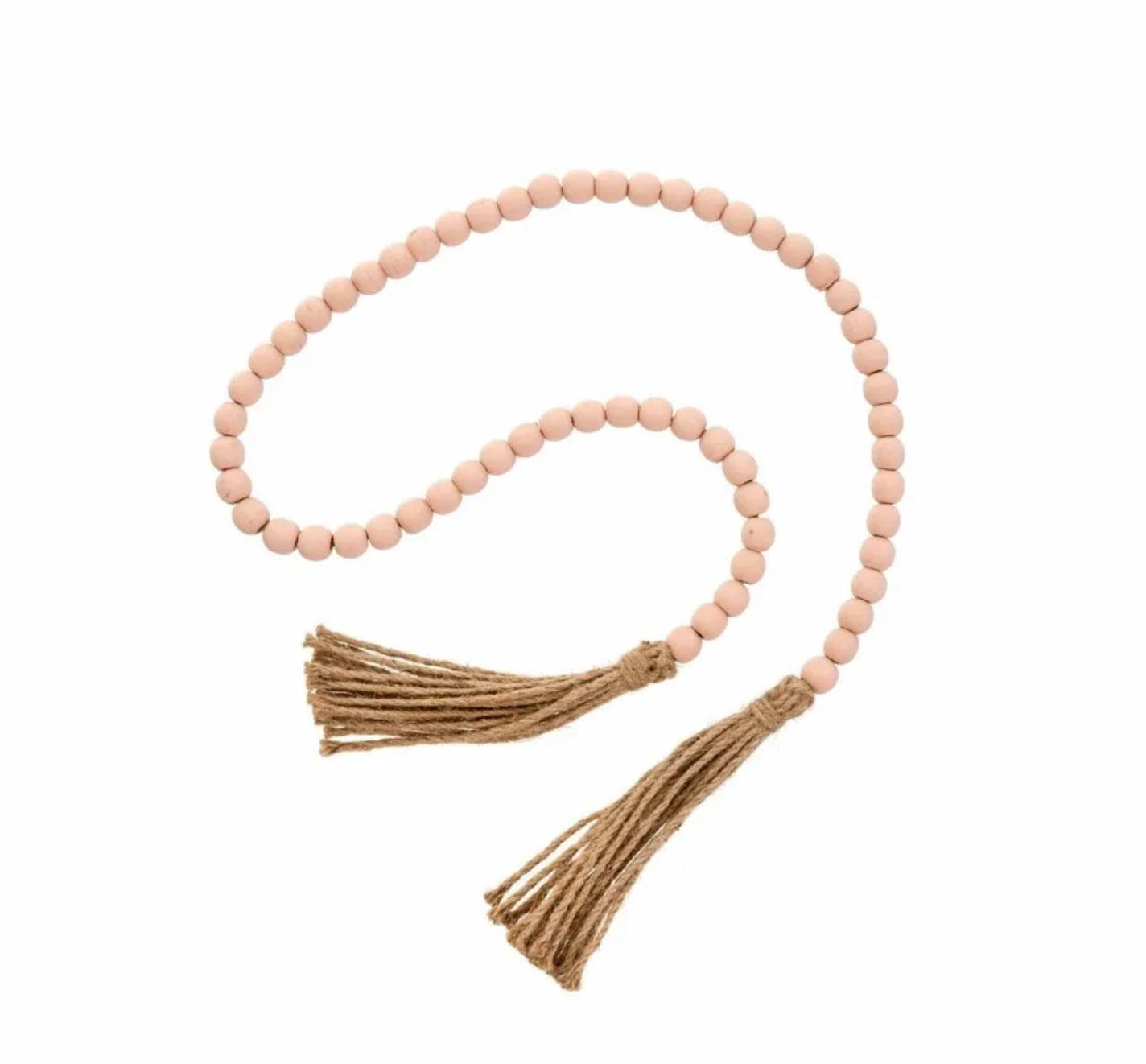 Tassel Prayer Beads (Natural Blush)