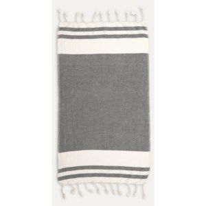 Turkish Hand Towel - Classic - Black