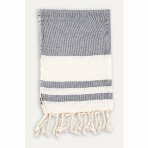 Turkish Hand Towel - Classic - Navy (set of 2)