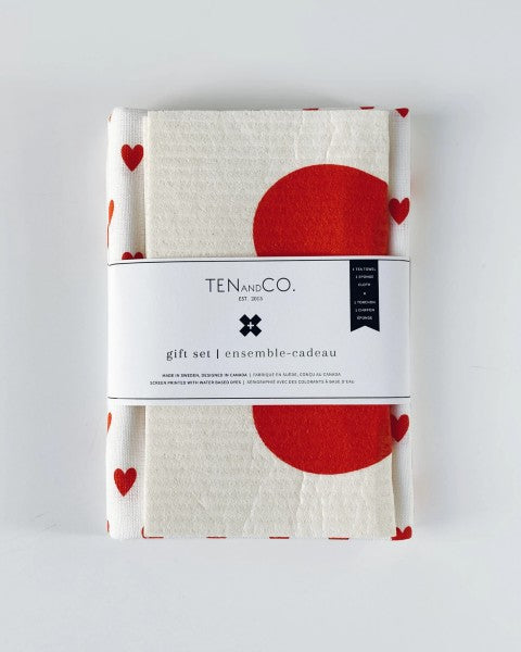 Gift Set - Lots of Love in Bright Red