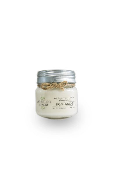 Homemade soy wax candle 8oz
