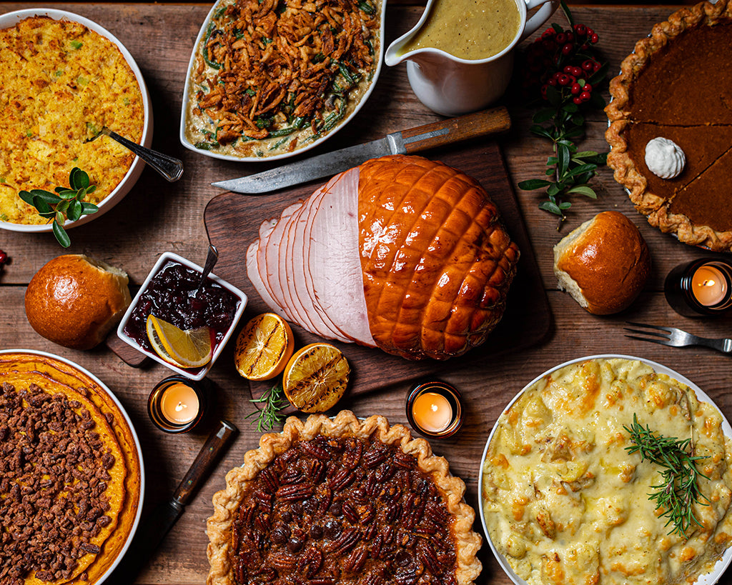 a Thanksgiving meal