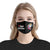 0 Days Without Sarcasm Unicorn EZ16 2506 Face Mask - Hyperfavor