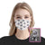 Dog Wine Pattern EZ01 1805 Custom Face Mask - Hyperfavor