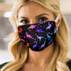 Dinosaur Pattern Transparent 2 EZ07 2005 Face Mask - Hyperfavor