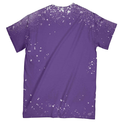 Alzheimer Awareness Peace Love Cure EZ01 3103 All Over T-shirt - Hyperfavor