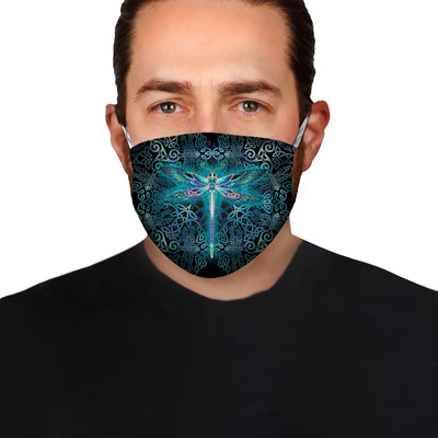 Premium Dragonfly Spirit EZ05 1704 Face Mask - Hyperfavor