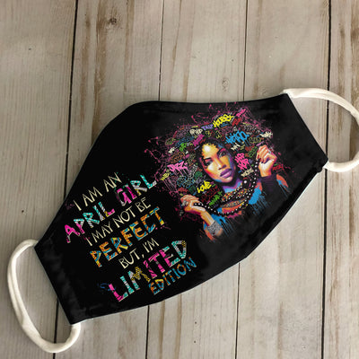 April Afro Queen Art EZ05 1805 Face Mask - Hyperfavor