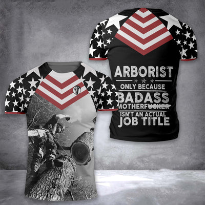 Arborist Best Job EZ10 1508 All Over T-Shirt - Hyperfavor