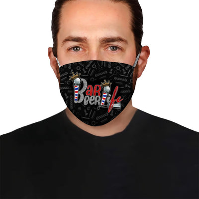 Barber Life Ver 02 EZ08 1505 Face Mask - Hyperfavor