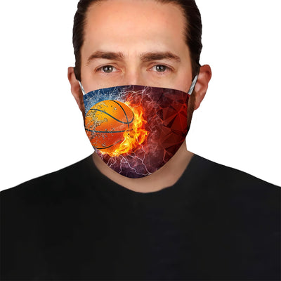 Premium Basket Ball EZ09 1405 Face Mask - Hyperfavor