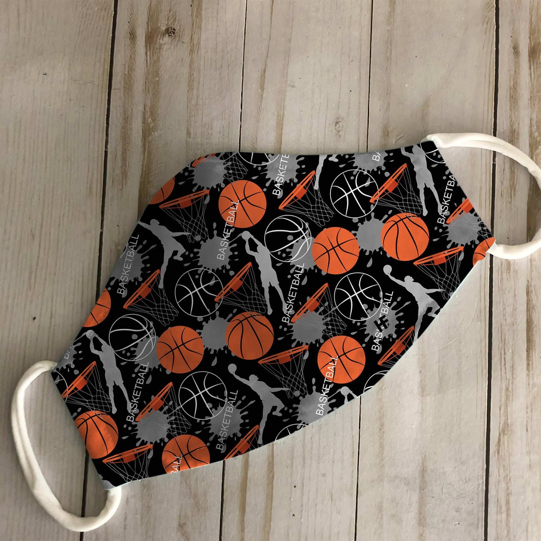 Basketball Pattern 06 EZ08 3006 Face Mask - Hyperfavor